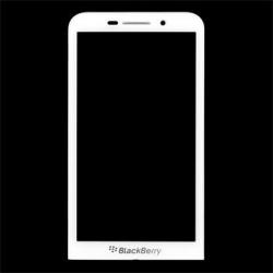 LCD Display + Dotyková Deska White BlackBerry Z30