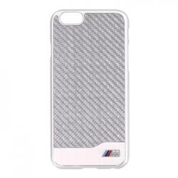 "BMHCP6MDCS BMW Carbon Aluminium Silver Zadní Kryt pro iPhone 6 4.7"""