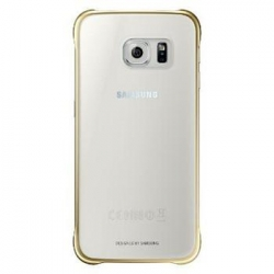 EF-QG920BFE Samsung Zadní Kryt Clear Gold pro G920 Galaxy S6 (EU Blister)
