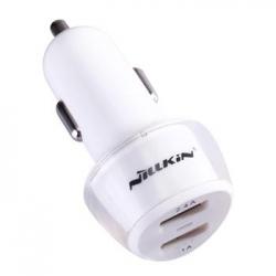 Nillkin Jelly Dual USB Autodobíječ White (EU Blister)