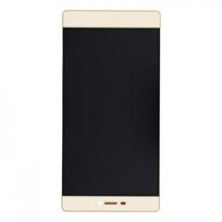 Huawei  P8 LCD Display + Dotyková Deska + Přední Kryt Gold