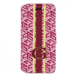 """GUFLBKP6GCURE Guess G-Cube Book Pouzdro Red pro iPhone 6 4.7"""""""