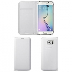 EF-WG925PWE Samsung Wallet Pouzdro White pro G925 Galaxy S6 Edge (EU Blister)