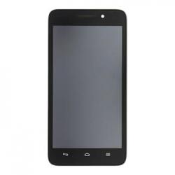 Huawei  G8 LCD Display + Dotyková Deska + Přední Kryt Gold