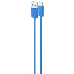USAMS Datový Kabel Type C U-Gee Blue (EU Blister)