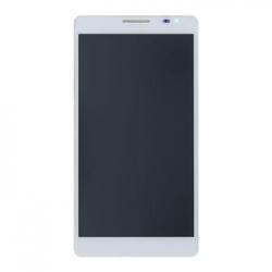 Huawei  P1 LCD Display + Dotyková Deska + Přední Kryt White