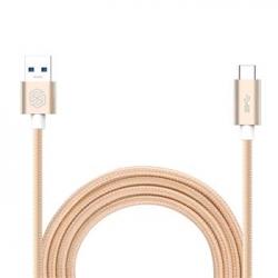 Nillkin Elite Type C USB 3.0 Datový Kabel Gold (EU Blister)