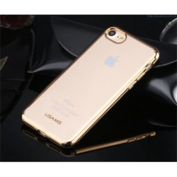USAMS Kim TPU Zadní Kryt Dark Gold pro iPhone 7
