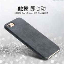 USAMS Bob Zadní Kryt Black pro iPhone 7