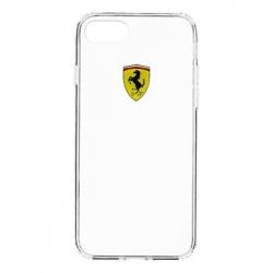 FEHCP7TR1 Ferrari Racing TPU Pouzdro Transparent pro iPhone 7