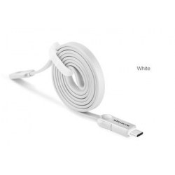 Nillkin Plus 3 microUSB/Type-C Datový Kabel White (EU Blister)