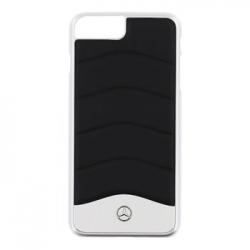 MEHCP7LCUSBK Mercedes Hard Case Wave III Aluminium Black pro iPhone 7 Plus