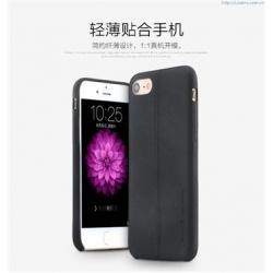 USAMS Joe Zadní Kožený Kryt Black pro iPhone 7 Plus