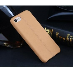 USAMS Joe Zadní Kožený Kryt Light Brown pro iPhone 7 Plus
