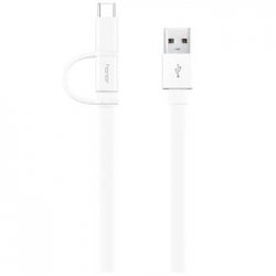 Honor AP55S USB Type-A/Type-C/microUSB Datový Kabel White (EU Blister)