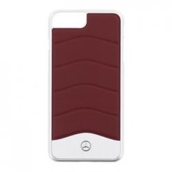 MEHCP7LCUSRE Mercedes Hard Case Wave III Aluminium Red pro iPhone 7 Plus