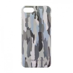 CEHCP7CAGR CERRUTI Camouflage TPU Pouzdro Green pro iPhone 7