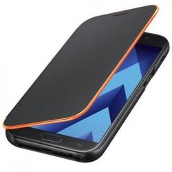 EF-FA520PBE Samsung Neon Flip Pouzdro Black pro Galaxy A5 2017 (EU Blister)