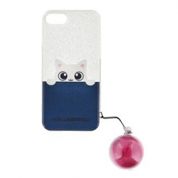 KLHCP7TRGPABPI Karl Lagerfeld K Peek A Boo TPU Pouzdro Pink pro iPhone 7