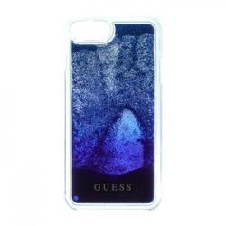 GUHCP7GLUGRRBL Guess Liquid Glitter Hard Pouzdro Blue Degrade pro iPhone 6/6S/7