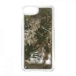 GUHCP7GLUPRG Guess Liquid Glitter Hard Pouzdro Palm Spring Gold pro iPhone 6/6S/7