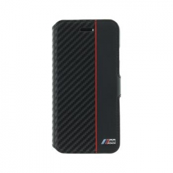 BMFLBKP7CAPRBK BMW M Collection Book Pouzdro Black pro iPhone 7
