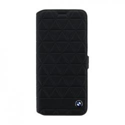 BMFLBKS8LHEXBK BMW Hexagon Kožené Book Pouzdro Black pro Samsung G955 Galaxy S8 Plus