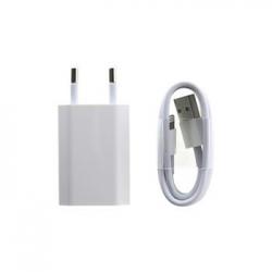 iPhone A1400 + MD818 Lightning Cestovní USB Dobíječ (Bulk)