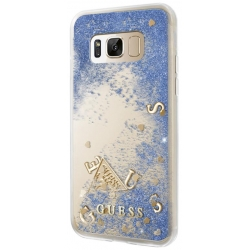 GUHCS8GLUFLBL Guess Liquid Glitter Hard Case Purple pro Samsung G950 Galaxy S8