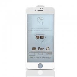 Apple iPhone 7 8 5D Tvrdené sklo lepiace po celej ploche b2263ddd297