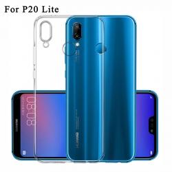 Huawei P20 Lite - Tenké silikónové púzdro