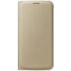 Samsung Flip púzdro EF-WG920BF pre Galaxy S6, Zlatá EF-WG920BFEGWW