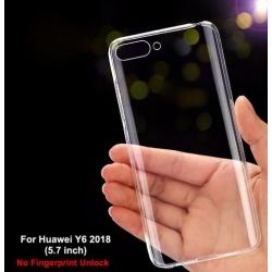 Huawei Y6 2018 - Tenké silikónové púzdro