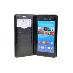 Puzdro Magnet Flip Wallet Book - Sony Xperia M5